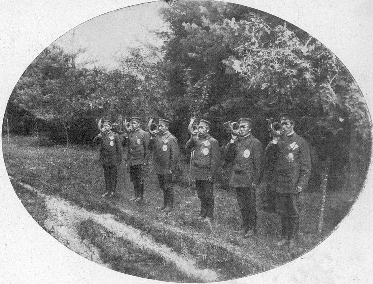 Gajowi dóbr Podzamcze w guberni lubelskiej