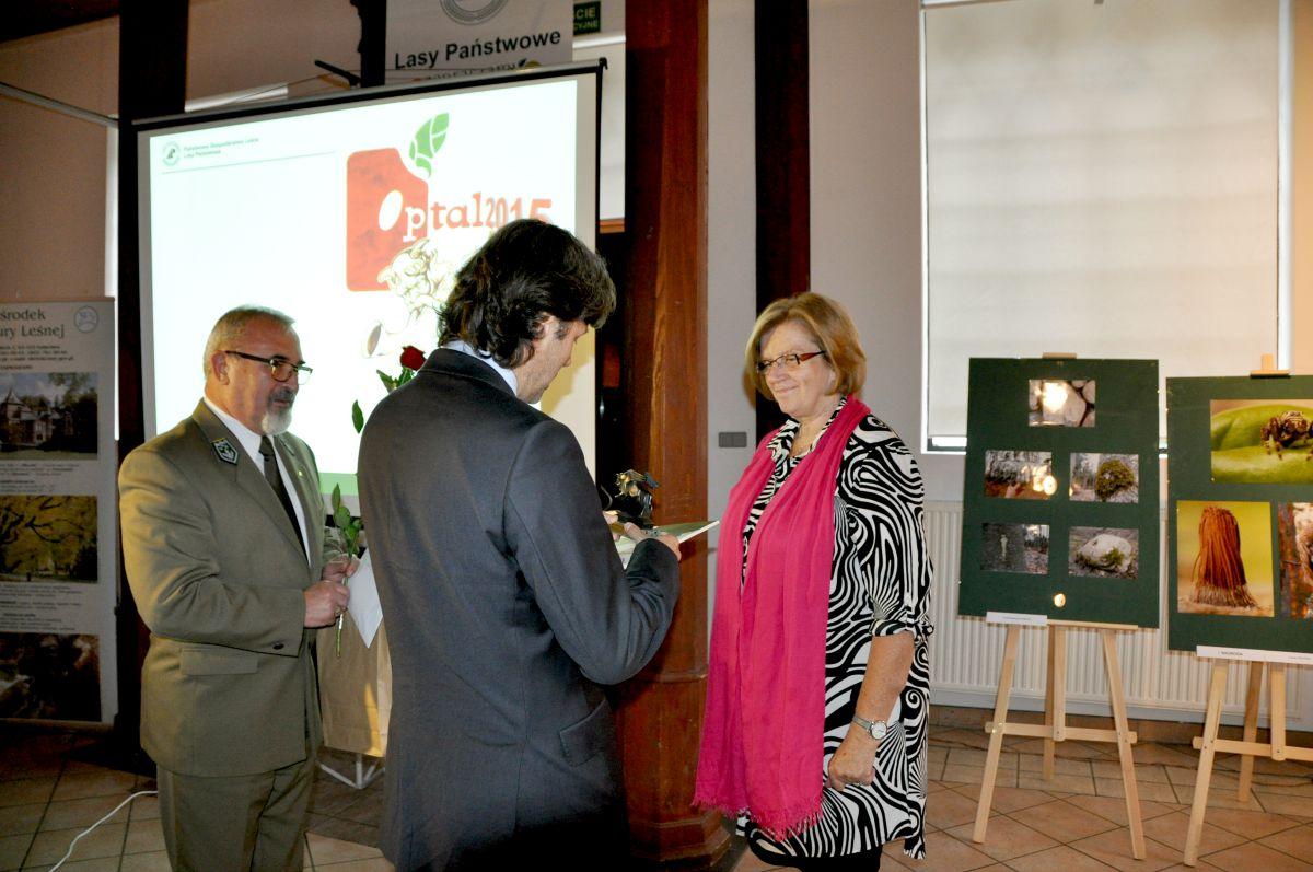 Nagroda specjalna Dyrektora OKL trafiła do Małgorzaty Mańczyk, fot. J. Zalejska-Niczyporuk.JPG
