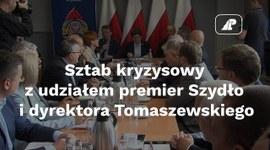 Sztab kryzysowy z udziałem premier Szydło i dyrektora Tomaszewskiego