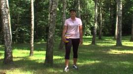 Trenuj w lesie z Jolantą Studzienną, odc.4, Spalanie kalorii.