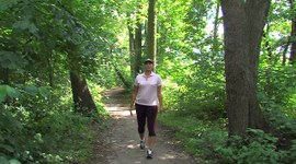 Trenuj w lesie z Jolantą Studzienną, odc.5, Rozciąganie.